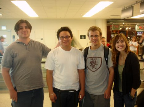 From left to right: Mike Brawner, Sergio Dreguer, Greg Hoth and Sharon Gould.