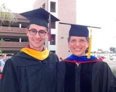 Chris Cline II and Pamela Burnley, Graduation May 2014