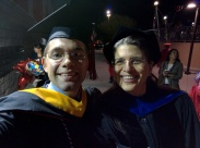 Dan Haber graduates! Congratulations!!