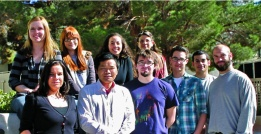 Top from left to right: Dawn Reynoso, Lexi Kosmides, Mai Sas and Pamela Burnley. Botttom from left to right: Sylvia-Monique Thomas, Yongjun Chen, Brian Erickson, Chris Cline II, Mike Barnes and Tim Bright.